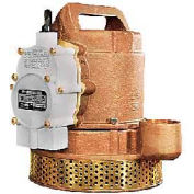 Little Giant 511342 Submersible Sump Pump 115V- 83 GPM At 5'- 10' Cord- Integral Dia. Switch