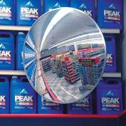 """36"""" Indoor/Outdoor Polycarbonate Convex Circular Mirrors"""
