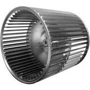 """Double Inlet Blower Wheel, 15-1/2"""" Dia., CW Or CCW, 15""""W, 1-7/16"""" Bore"""