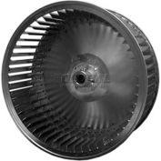 "Single Inlet Blower Wheel, 7-11/16"" Dia., CCW, 3600 RPM, 5/8"" Bore, 4-1/4""W, Steel"