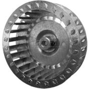 "Single Inlet Blower Wheel, 4-3/4"" Dia., CCW, 3600 RPM, 5/16"" Bore, 1-3/4""W, Plastic"