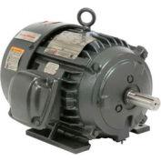US Motors, TEFC, 5 HP, 3-Phase, 1755 RPM Motor, C5P2BC