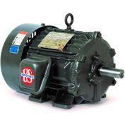 US Motors World Motor TEFC, 10 HP, 3-Phase, 1770 RPM, HD10P2E