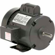 US Motors, TEFC, 3 HP, 1-Phase, 1740 RPM Motor, T3C2P18