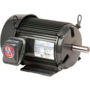 US Motors Unimount® TEFC, 10 HP, 3-Phase, 1180 RPM Motor, U10P3D