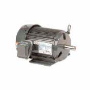 US Motors Unimount® TEFC, 10 HP, 3-Phase, 1180 RPM Motor, U10P3G