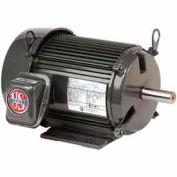 US Motors Unimount® TEFC, 10 HP, 3-Phase, 1760 RPM Motor, U10P2D