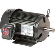 US Motors Unimount® TEFC, 7.5 HP, 3-Phase, 1180 RPM Motor, U7P3D