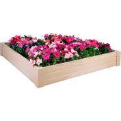"""New Age Garden™ Raised Garden Bed/Sand Box 48""""W x 48""""D x 8""""H"""