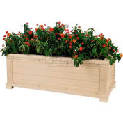 "New Age Garden™ Rectangular Planter - 42""W x 18""D x 15""H"