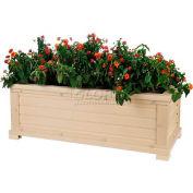 """New Age Garden™ Rectangular Planter - 42""""W x 18""""D x 15""""H"""