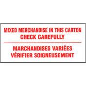"""Mixte marchandises Shipping Label - 6 """"X 3"""" - bilingue"""