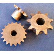 Plastock® #40 Roller Chain pignons 40b9, Nylatron, 1/2 Pitch, dent 9 rouleaux