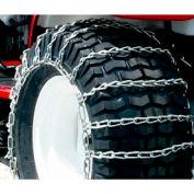 Maxtrac Snow Blower/Garden Tractor Chains, 2 Link- 4/0 Cross Chain(Pair)-1065356 - Pkg Qty 2