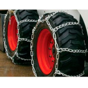 Série 3400 Skid Loader Chains w / HD Twist croisent Chains, 4 lien (paire) - 0341055