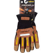 PIP Maximum Safety® Journeyman KV, Professional Workman's Glove, Brown, XL, 1 Pair