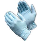 PIP Ambi-Dex® 63-331PF Premium Industrial Grade Nitrile Gloves, Powder-Free, Blue, S, 100/Box