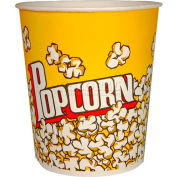 Paragon 1064 Small Popcorn Buckets 32 oz 100/Case