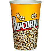 Paragon 1065 Popcorn moyen seaux oz 46 100/caisse