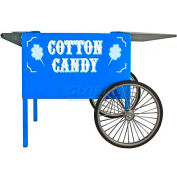 "Paragon 3060050 Cotton Candy Deep Well Cart - Blue, 26-1/2""W x 41-1/2""D x 26""H"