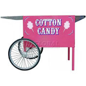 "Paragon 3060070 Cotton Candy Deep Well Cart - Pink, 26-1/2""W x 41-1/2""D x 26""H"