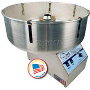 Paragon 7105100 classique coton Machine Barbapapa 5 W / bol en métal, portions de 200 Lbs / heure