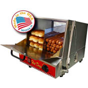 Paragon 8080,  Classic Dog Hot Dog Steamer, 192 Hot Dogs/30 Buns, 120V