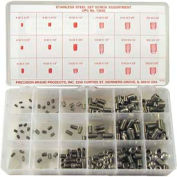 220 Piece Stainless Steel Set Screw Assortment - Made In USA