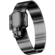"""HD8SN 9/16"""" Band, Heavy Duty 4-Piece Stainless Worm Gear Hose Clamp, 7/16"""" - 1"""" Dia. 10-Pack"""