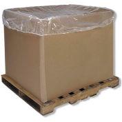 "Global Industrial™ Elastic Gaylord & Tote Bin Cover, 65""Lx65""W, 4 Mil - Pkg Qty 25"