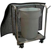 "Prairie View MCA344636, Mat Transport Cart, 34""W x 46""H x 36""L"