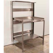 """Prairie View RTW246048, Stainless Steel Retractable Prep Station, 48""""W x 60""""H x 24""""D"""
