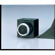 Patlite BM-212H+FC001 Panel Mount Smart Alert Alarm, 2 Sounds, Dark Gray, AC120V