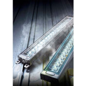 Patlite CLK2S-24AG-CD Industrial LED Machine Light, 200mm long W/3m Cable, Tempered Glass, DC24V