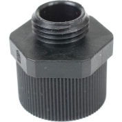 Patlite NE-NPT-BK 1/2 NPT Adaptor For NE Series, Black Nylon, Black