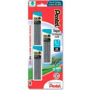 Pentel® Super Hi-Polymer Automatic Pencil Lead Refill, 0.7mm, Black, 90/Pack