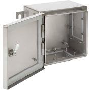 Hoffman ATEX262620SS63, Zonex™ Hazardous Location Encl, 3Gp, 260X260X205Mm, SS Type 316