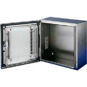 Hoffman CSD362412EMCSS, CONCEPT™ EMC Enclosure, Type 4X, 36.00x24.00x12.00in, SS Type 304