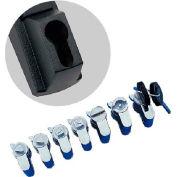 Hoffman PKOTM7FH Key Insert, Triangle, 7mm, Fits Flush Handle, Cast Zinc