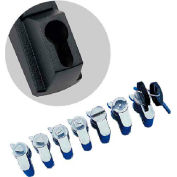 Hoffman PKOTM8FH Key Insert, Triangle, 8mm, Fits Flush Handle, Cast Zinc