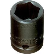 "Proto J7416M 1/2"" Drive Impact Socket 16mm - 6 Point, 1-1/2"" Long"