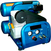 Puma DD2022S, 1.5 HP, Hand Carry, 4 Gallon, Twin Stack, 135 PSI, 3.7 CFM, 1-Phase 115V
