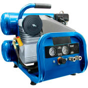 Puma DP2022S, 2 HP, Hand Carry, 4 Gallon, Twin Stack, 135 PSI, 4.6 CFM, 1-Phase 115V