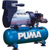 Puma LA5706, 1 HP, Hand Carry, 1.5 Gallon, Hot Dog, 135 PSI, 2.2 CFM, 1-Phase 115V