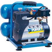 Puma LA5721, 1 HP, Hand Carry, 2 Gallon, Twin Stack, 135 PSI, 2.2 CFM, 1-Phase 115V