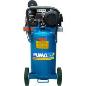 Puma PK2011VP, 1 HP, Portable Compressor, 11 Gallon, Vertical, 135 PSI, 3 CFM, 1-Phase 115/230V
