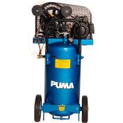 Puma PK5020VP, 2 HP, Portable Compressor, 20 Gallon, Vertical, 135 PSI, 5 CFM, 1-Phase 115/230V