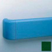Aluminum-Reinforced Return For Br-530 Handrail, Hunter Green