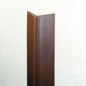 "Flexible Vinyl Corner Guard, 1-3/4"" Wings, 1/4"" Radius, 4'H, Polar WH, Heavy Duty Flexible Vinyl"
