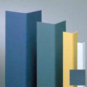 "Vinyl Surface Mounted Corner Guard, 90° Corner, 3/4"" Wings, 4'H, Windsor BL, Vinyl"